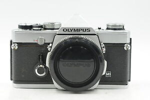 Olympus OM-1 MD SLR Film Camera Body Chrome OM1 #519