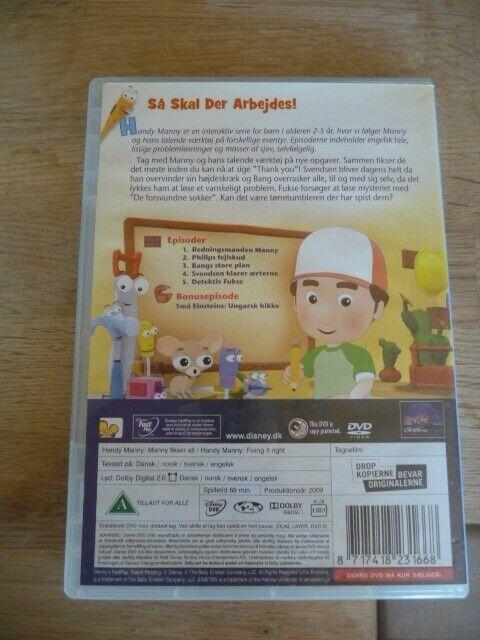 Handy Manny - Manny fikser alt 3, DVD, tegnefilm