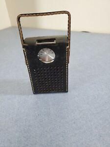 Vintage Realtone Transistor Radio With Leather Case