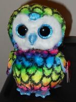 Ty Beanie Boos Boo's - Aria The 6 Owl - Claire's Exclusive - Mint With Mint Tag