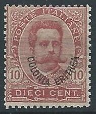 1895-99 ERITREA UMBERTO I 10 CENT MNH ** - ED1009