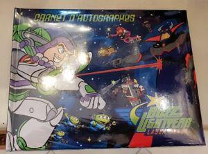 Details Sur Autograph Book Livre D Autographes Pixar Disneyland Paris