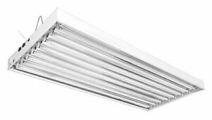 iPower 4-Feet 4/8 Lamp T5 Ho Tube Fluorescent Grow Light Hydroponic Fixture