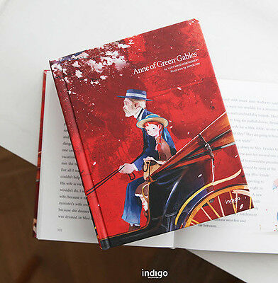 Anne of Green Gables By Lucy M. Montgomery Illustration Hard Cover English Book