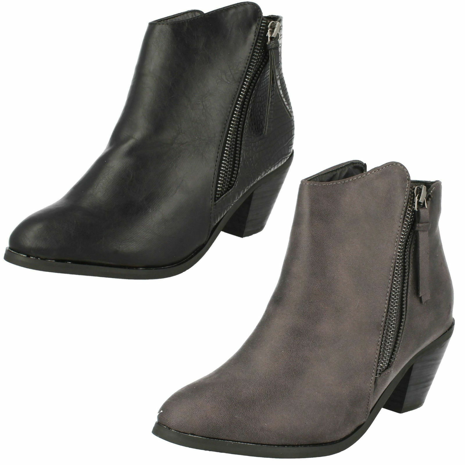 Mujer f50450 Spot On Botines Casuales f50450 Mujer ~ K c67978