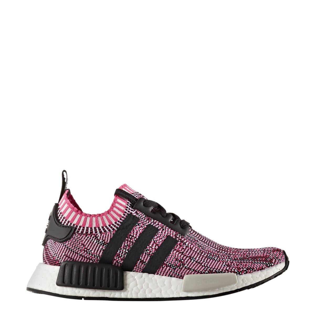 4687c563604eb Adidas Women NMD R1 W W W Primeknit Pink shock core Black footwear  white-BB2363 0a6715