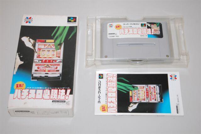 Jissen Pachi Slot Hisshouhou Japan Nintendo Super Famicom sfc game