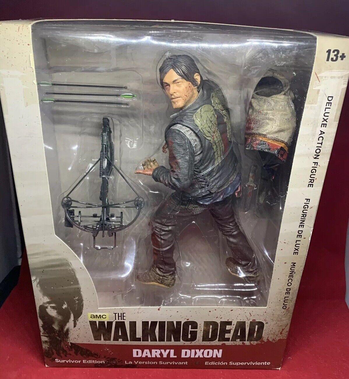 en marchant Dead Daryl Dixon Survivor  Series 10 pouces Deluxe Action Figure-NEUF  promotions discount