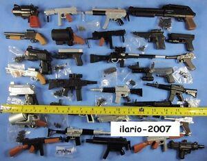 Giocattolo Toy molla vintage 1/4 Accessori Action figure wars soldati m16 soft