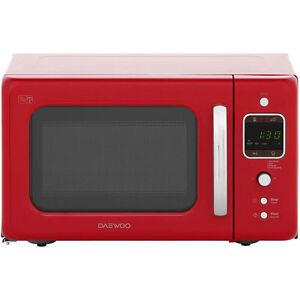 Daewoo Kor7lbkr Retro Style 800 Watt Microwave Free