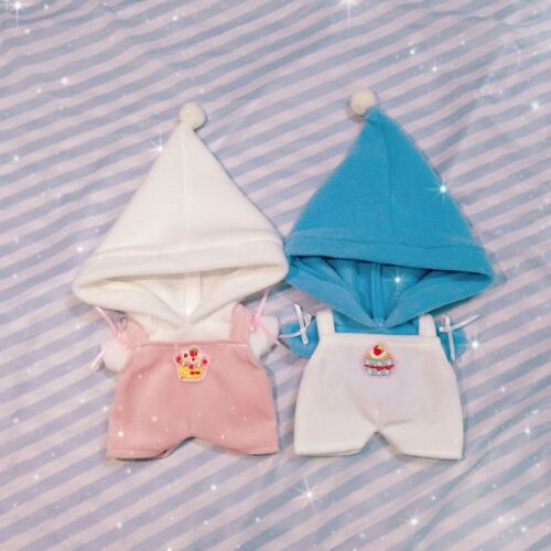 Kpop EXO XOXO Chan Yeol Baekhyun Sehun Doll Clothes Hoodie Cake Rompers Be