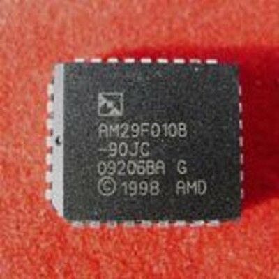 12pcs AMD AM29F010B-90JC  Flash Memory IC New