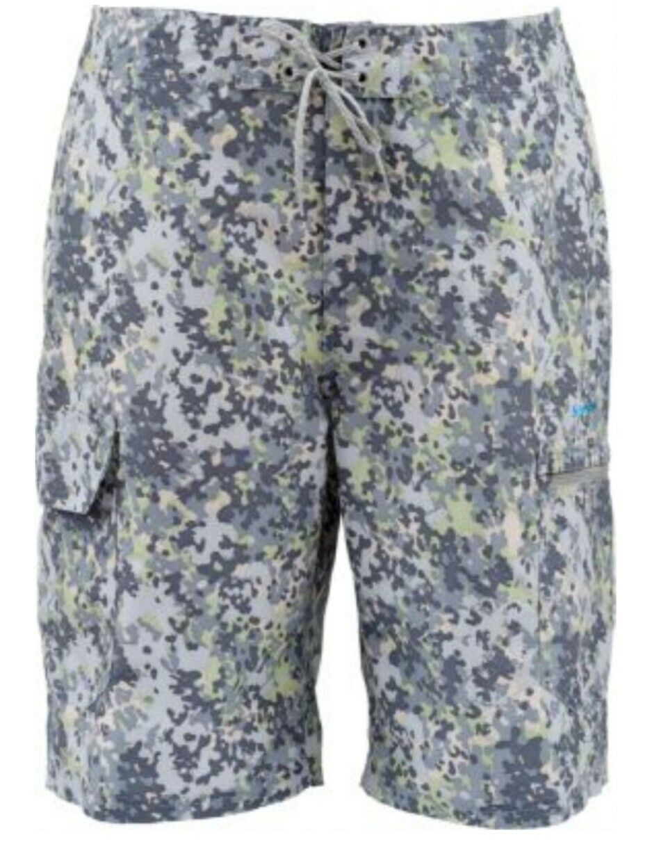 Simms Surf Short Tidal Camo Mens Size 36 Or 38  NWT  limited edition