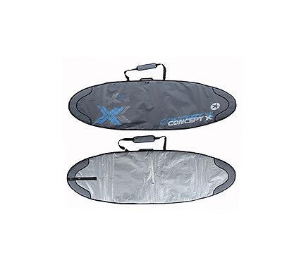 Concept X Boardbag Windsurf Surf Bag Surfbrett Tasche Rocket 239 x 60 cm Twinser