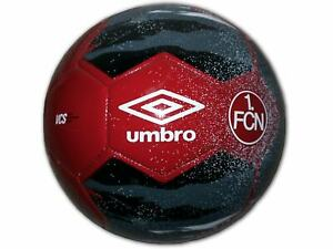 Umbro-1-FC-Nuernberg-Fussball-Neo-Trainer-rot-FCN-Fan-Ball-Trainingsball-Club-Gr5