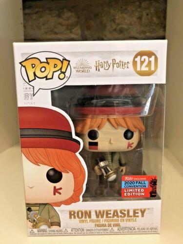 Ron Weasley Nycc 2020 exclusiva convenção de outono FUNKO POP HARRY POTTER #121