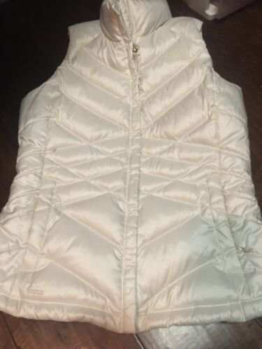 The North Face Off White Women's Vest Size Medium