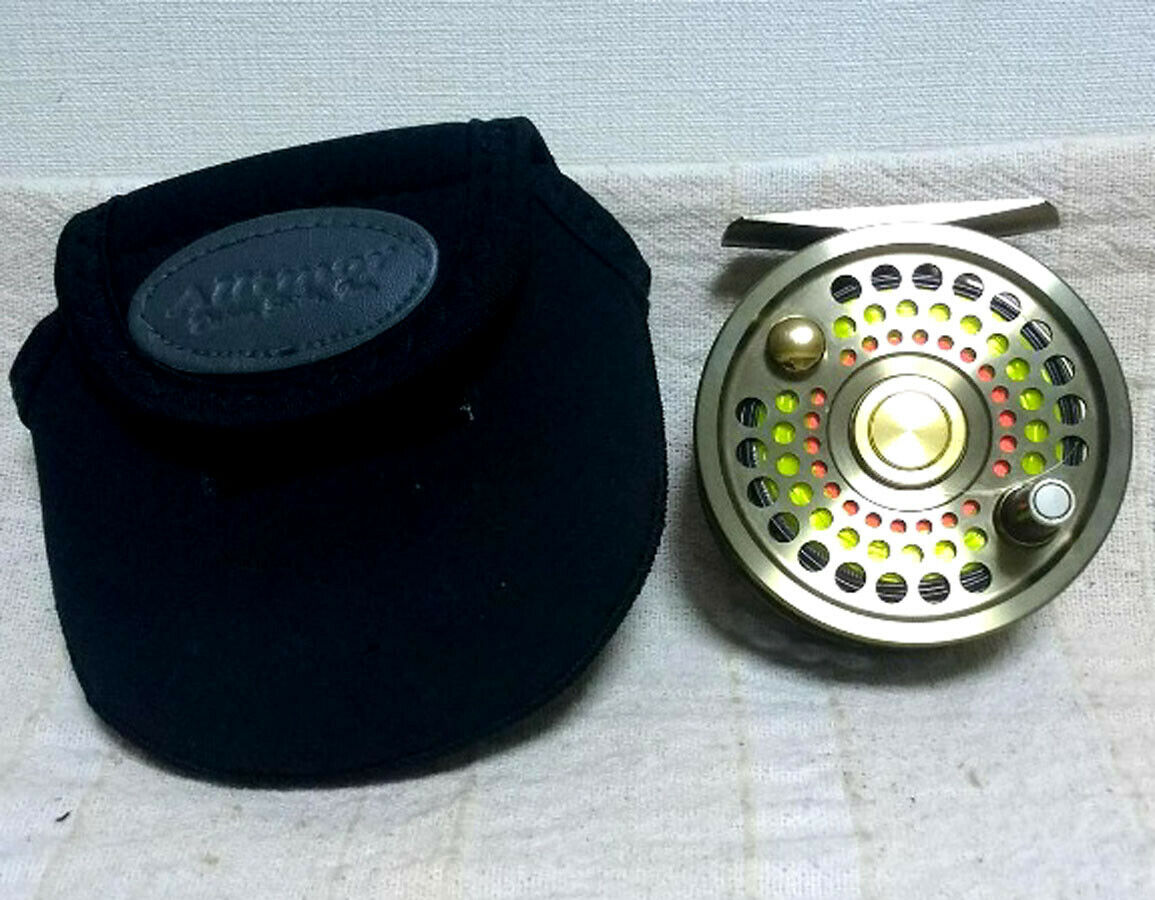 DAIWA Alltmor-x 200D Fly reel #4-7 with BAG Fishing Good Condition F/S
