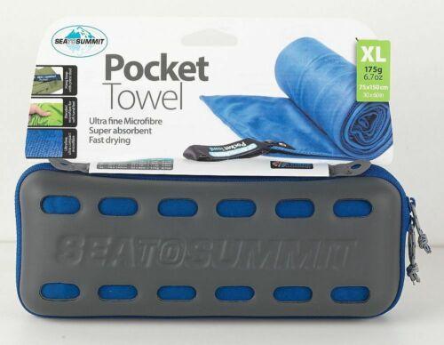 Sea to Summit Outdoor Pocket Handtuch XL Towel blau