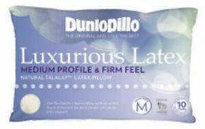 Dunlopillo-Talalay-Latex-Luxurious-Pillow-Medium-Profile-amp-Firm-Feel