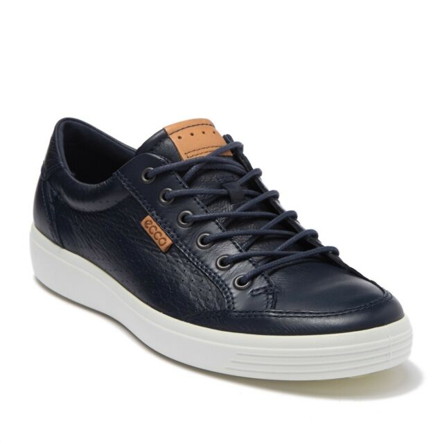 ECCO Soft 7 Leather Perf Sneaker in