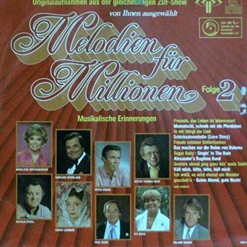 Melodien für Millionen 02 (1985) Orch. Paul Kuhn, Ute Mann Singers, Lys A.. [LP]