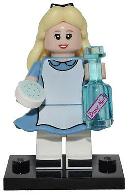 Genuine Lego 71012 Disney Series Minifigure no. 7 Alice in Wonderland w/ Poster