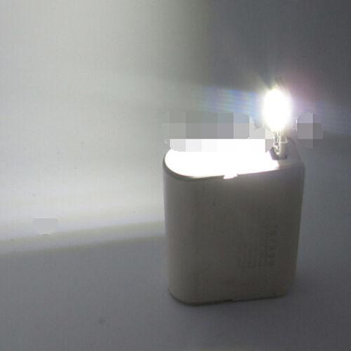 Portable 1W white mini touch switch usb power led light night read lamp bulb ^P