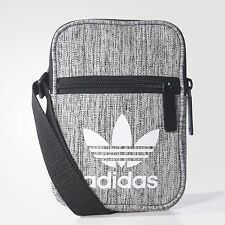 adidas mini shoulder SMALL messenger bag (BLACK/GREY) 100% genuine!