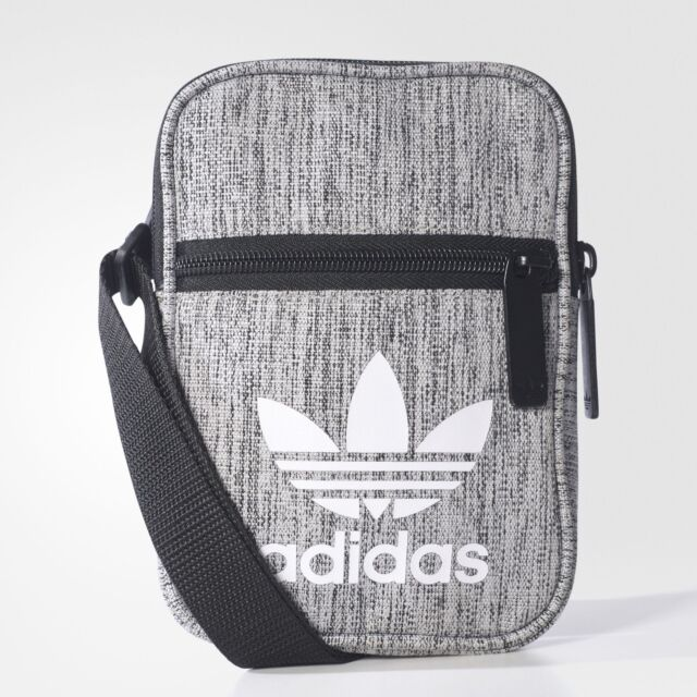 ae7182d9b5 adidas Mini Shoulder Small Messenger Bag (black/grey) 100 Genuine ...