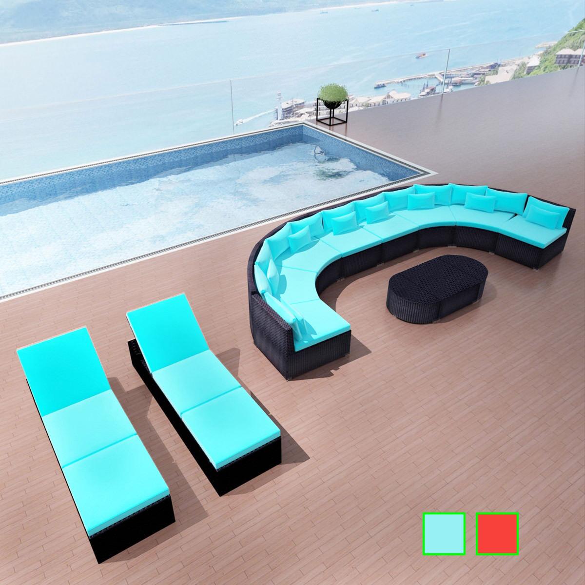 Poly Rattan Gartenmöbel Set Sitzgruppe Sitzgarnitur So… | Nicht zutreffend