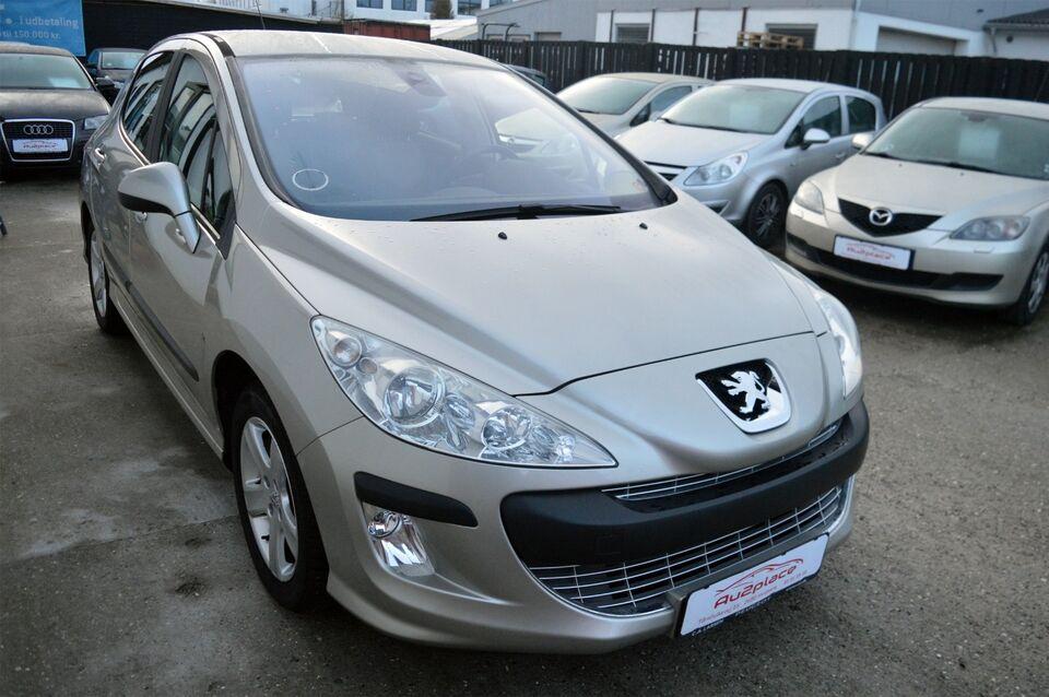 Peugeot 308 1,6 VTi Premium Benzin modelår 2008 km 163000