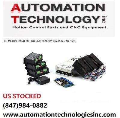 48V//7.3A//570oz-in//KL-5056 3-Axis NEMA23 CNC Kit