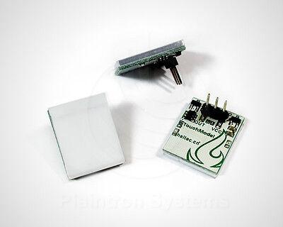 Kapazitiver Touch-Sensor, beleuchtet Schalter Taster LED rot/gelb/grün/blau