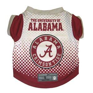 Alabama-Crimson-Tide-NCAA-Licensed-Dog-Pet-Performance-Tee-Sizes-XS-XL