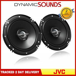 """JVC CS-J620X 6.5"""" 16.5cm 2 Way 600 Watts Car Van Door Coaxial Speakers Pair"""