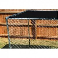 Dog Kennel Cover 10 X 10 Shade Shelter Roof Large Top Cage Pen Outdoor