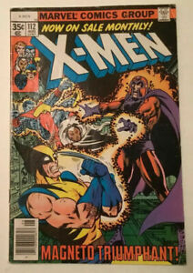 Uncanny-X-Men-112-VG-4-0-Wolverine-Magneto-Storm-Colossus