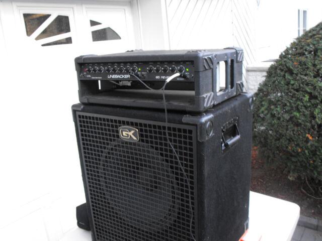 Gallien Krueger 1x15 Speaker Cabinet And 65 Watts Boss Linebacker Laney Amp