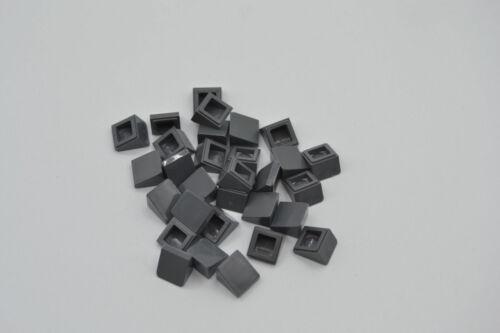 LEGO 30 x Schrägstein neues dunkelgrau Dark Bluish Gray Slope 30 1x1x2//3 54200