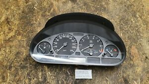 057-BMW-E46-Tacho-Tachometer-Kombiinstrument-Benziner-Schalter-4117729