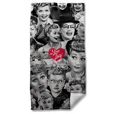 "I LOVE LUCY FACES Beach Towel 36"" x 58"""