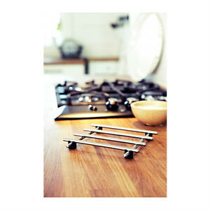 ... stainless steel pot pan stand countertop heat protector LAMPLIG eBay