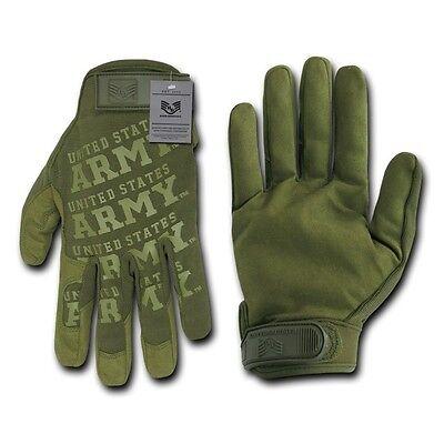 Olive Green United States US Army Mechanics Mechanic Work Glove Gloves L XL 2XL