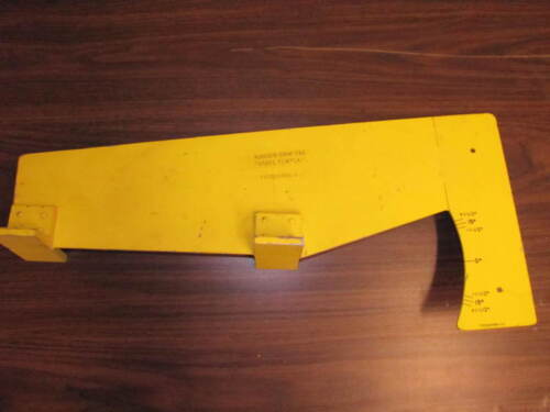Grumman Cougar Twin GA-7 Control Rigging Fixture Rudder Trim