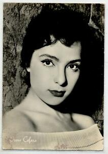 IRENE-CEFARO-Cinema-Star-Attrice-1960-ITALY-Real-Photo-PC-Vera-foto