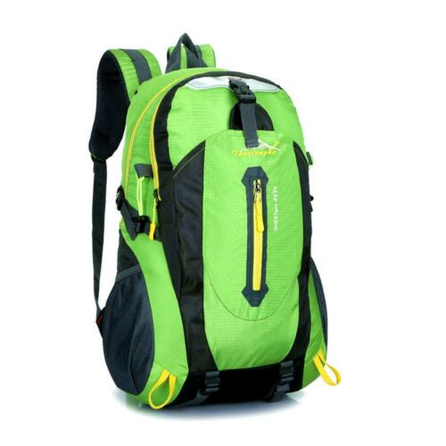 A Nylon Outdoor Sport Travel Backpack Leisure Mountaineering Breathable Bags