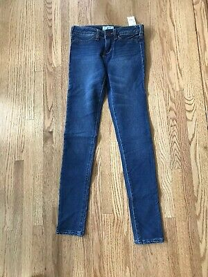 KIDS AERO Girls High Waisted Jeggings Color Wash Jeans Size 5,6,7,8 NEW NWT P.S