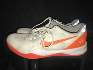 more photos 09d13 40426 Image is loading Nike-Kobe-System-8-White-Orange-Grey-Ghost-
