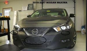LeBra Front End Cover Nissan Maxima Vinyl Black 55539-01